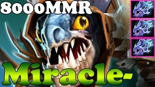 Dota 2 - Miracle- 8000MMR Plays Slark vol 12 - Ranked Match Gameplay