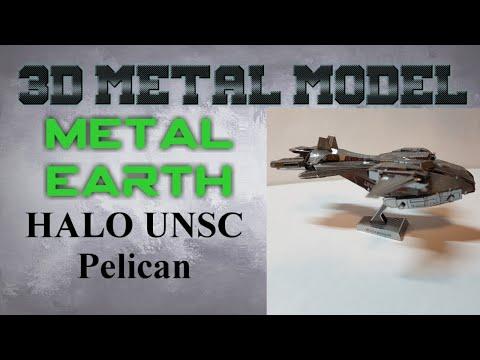 Metal Earth Build - Halo UNSC Pelican