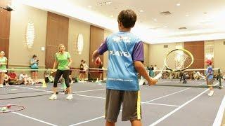 Tennis Games Red Court. Part 2