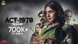 ACT-1978 Kannada Film - Official Trailer | Yajna Shetty | Sanchari Vijay | Mansore | Satya Hegde