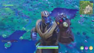 Fortnite Thanos gameplay!