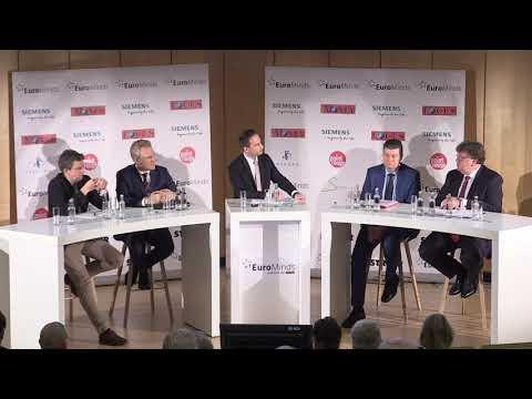 """EuroMinds 31.01.2020, 5. Panel """"Wirtschaft & Finanzen"""""""