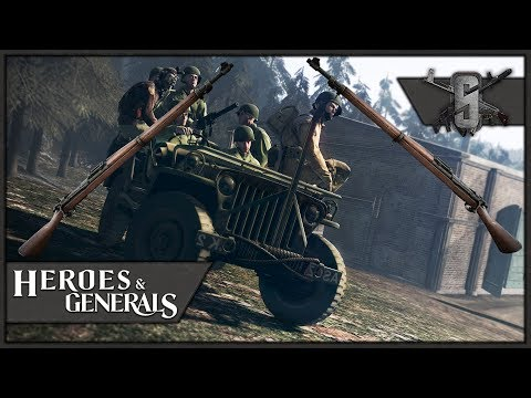 Springfield Bros - Heroes and Generals - US Infantry Gameplay 1440p60