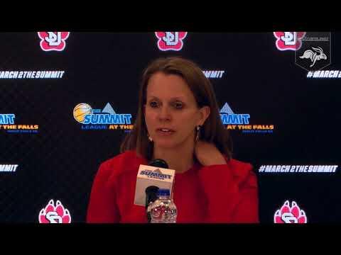 South Dakota Press Conference vs SDSU (03.06.2018)
