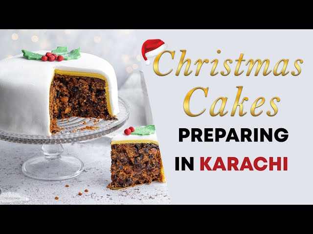 Christmas Cake Preparation In Karachi