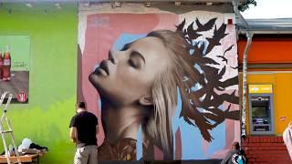 Dem mural art at Berlin for street art Berlin-street art Thessaloniki Greece