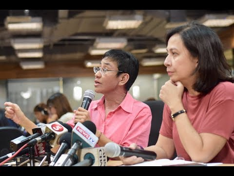 Maria Ressa, Chay Hofileña on SEC's revocation of Rappler's license to operate