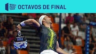 Resumen Octavos de Final (tarde) Estre lla Damm Valencia Open 2019 | World Padel Tour
