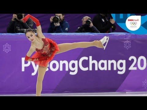 Alina Zagitova y su espectacular oro olímpico a los 15 años