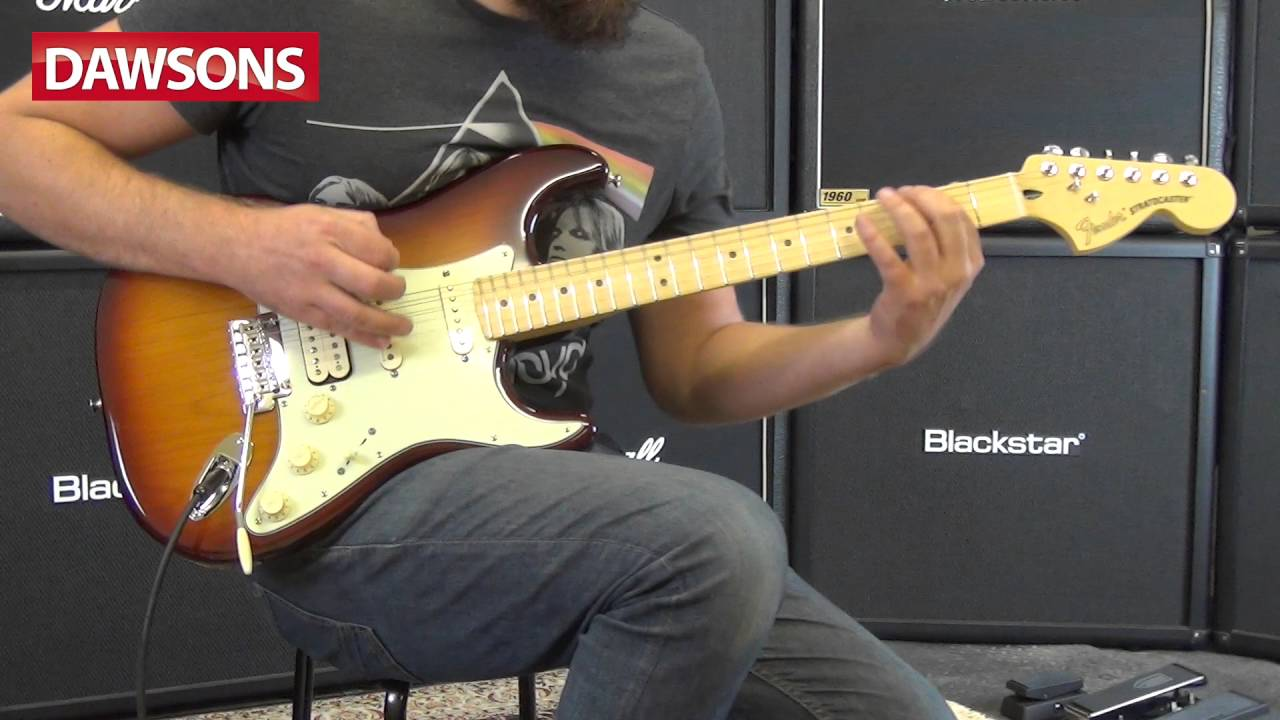fender 2016 deluxe stratocaster mn hss review youtube. Black Bedroom Furniture Sets. Home Design Ideas