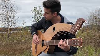 Fields Of Gold - (Sting) -  18 String Harp Guitar - Jamie Dupuis