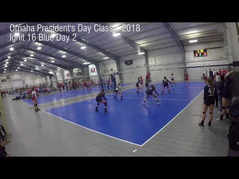 Ignit 16 Blue Omaha President's Day Classic Day 2 Highlights