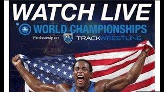 Wrestling :European Championships (Kaspiisk) RUS | LIVE