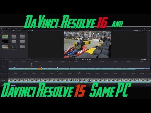 Install DaVinci Resolve 16 & DaVinci Resolve 15 On The Same PC