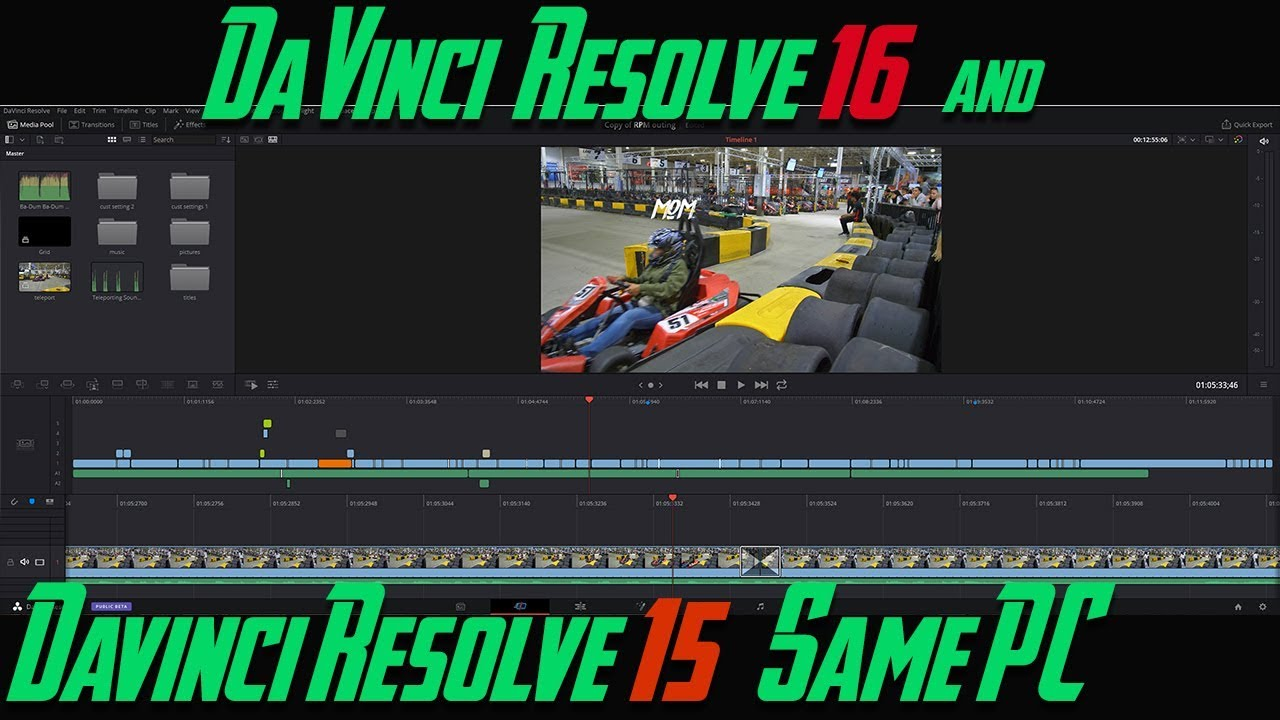 Install DaVinci Resolve 16 & DaVinci Resolve 15 on the same PC