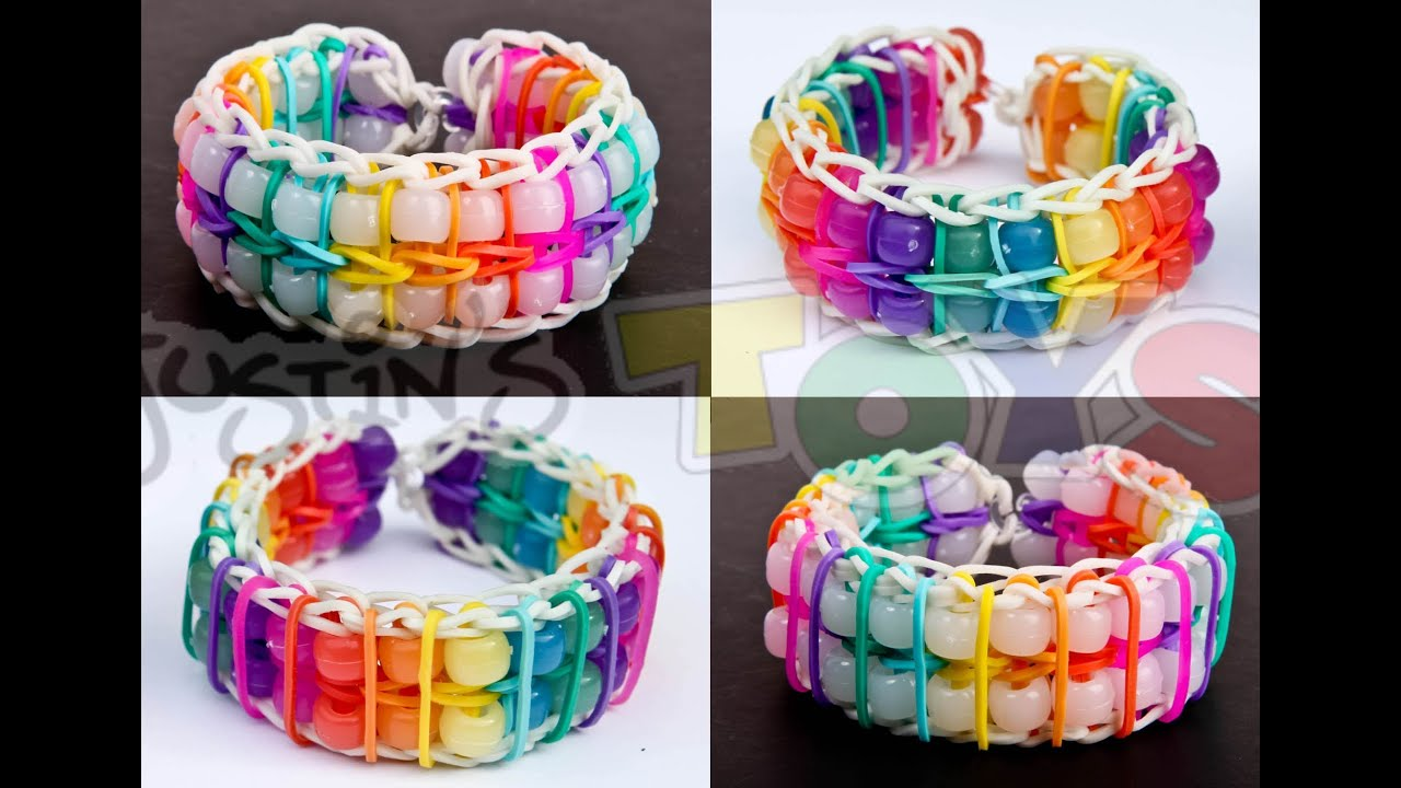 how to make cool bracelets with pony beads