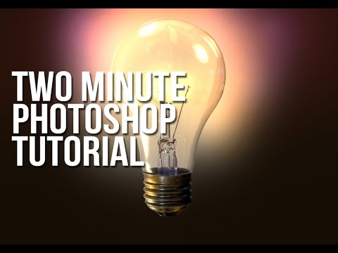 Two Minute Tutorial for Photoshop