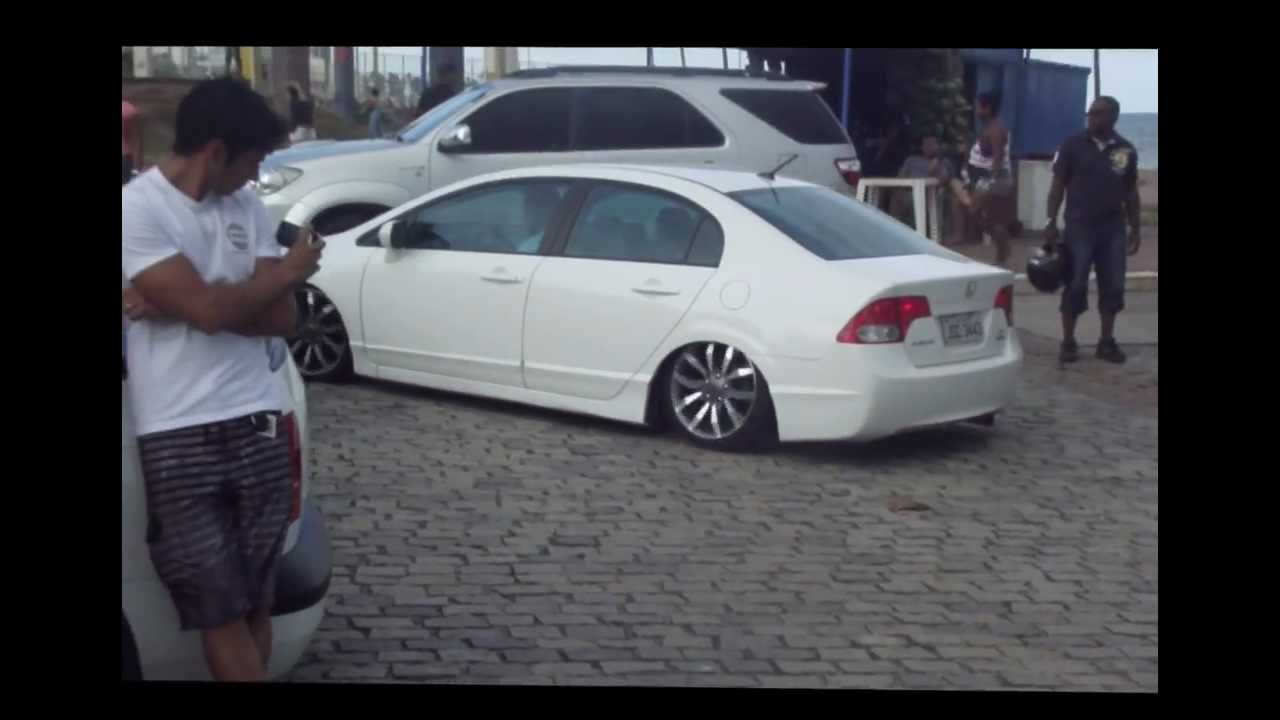 HONDA CIVIC BAIXO COM RAIVA - YouTube