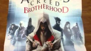 Assassin's Creed Brotherhood Limited Codex Edition Un-boxing
