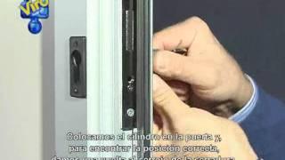 Cerradura de embutir con cilindro Euro-plus