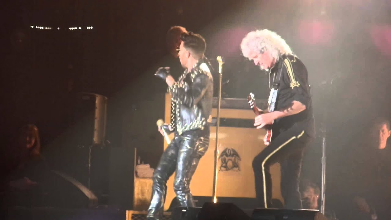 stone cold crazy queen adam lambert stuttgart 13 02. Black Bedroom Furniture Sets. Home Design Ideas