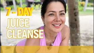 7 Days Juice Cleanse: SuperFeed SuperFeel Detox // Alice Dixson
