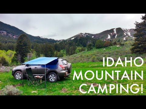 Stunning Mountain Camping in Idaho! (SUV Camping/Vandwelling Trip)