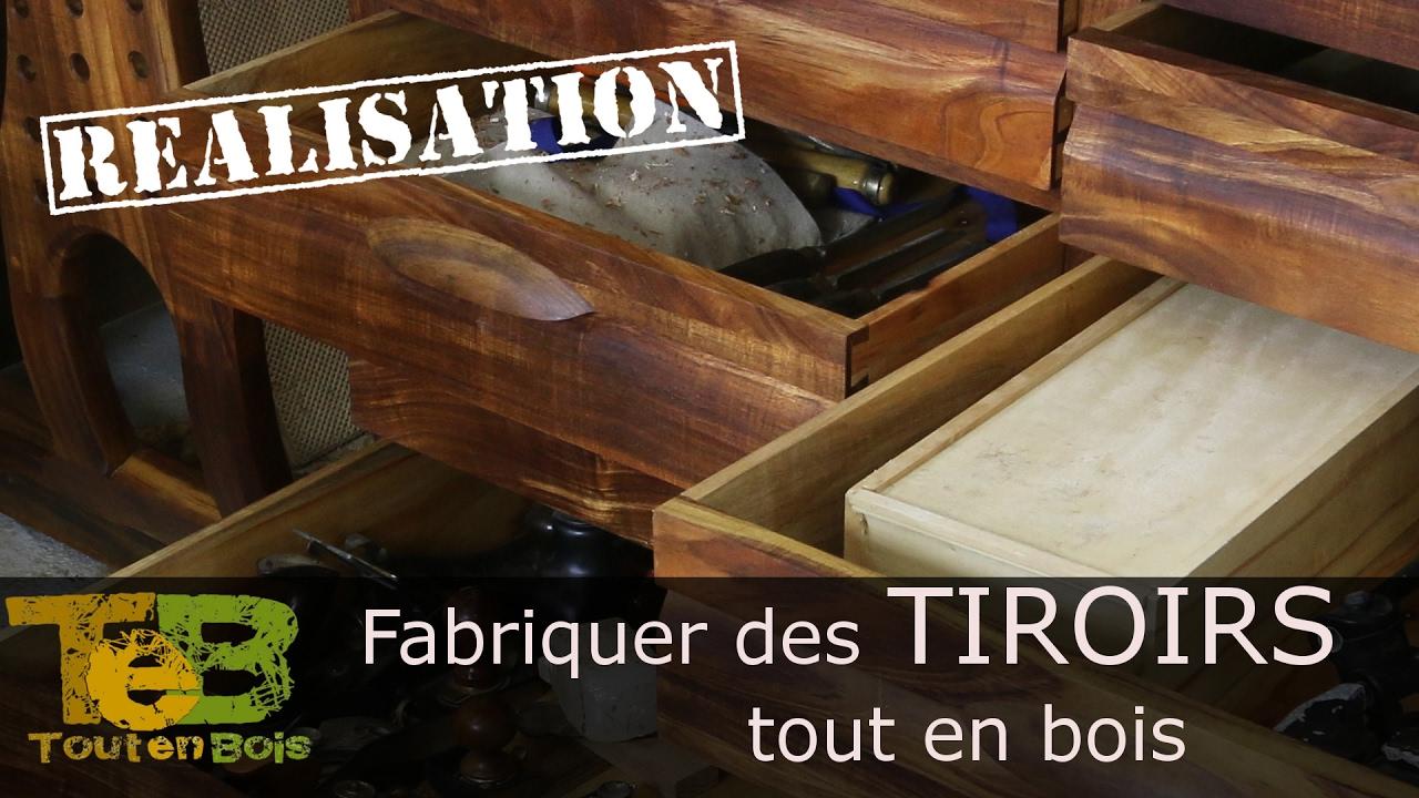 tabli shaker 18 comment faire des tiroirs classiques. Black Bedroom Furniture Sets. Home Design Ideas