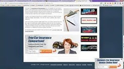 Car Insurance Groups Table and List