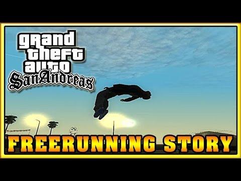Обзор модов GTA San Andreas - FreeRunning Story (Parkour Mod)