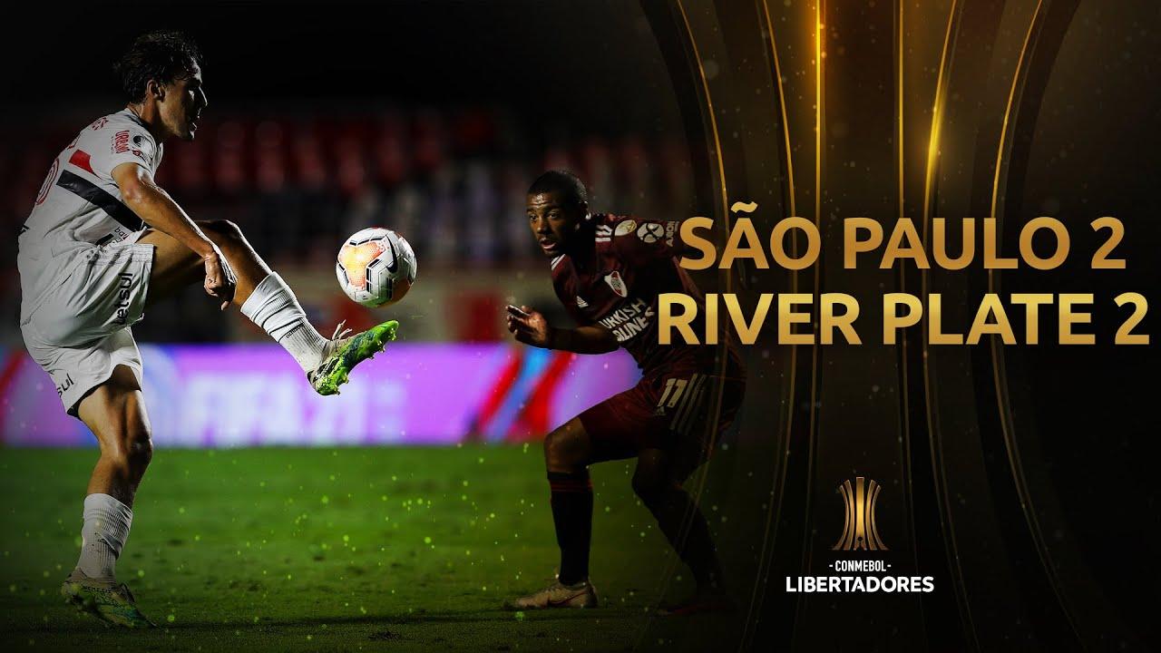 São Paulo vs. River Plate [2-2]   RESUMEN   Fase de Grupos   Jornada 3   CONMEBOL Libertadores 2020