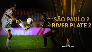 São Paulo vs. River Plate [2-2] | RESUMEN | Fase de Grupos | Jornada 3 | CONMEBOL Libertadores 2020