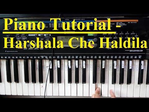 Piano Tutorial - Harshala Che Haldila