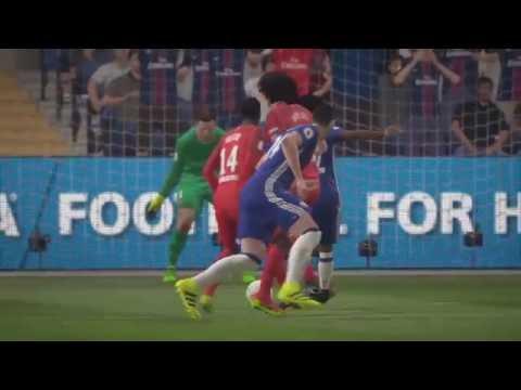 FIFA 17 DEMO Paris Saint Germain Vs Chelsea FIFA 17 + Nouvelles Célébrations (FR)