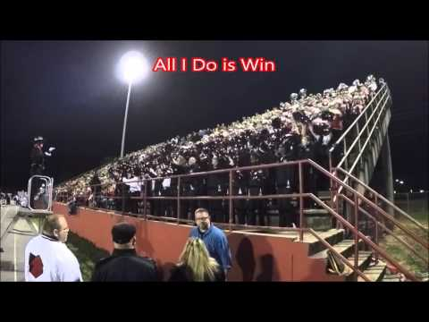 Tate High School Band - Stands Tunes - 11/20/15 Tate v. Pine Forest