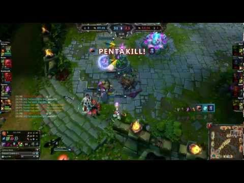 LoL - Kog Maw PENTA KILL from YouTube · Duration:  29 seconds