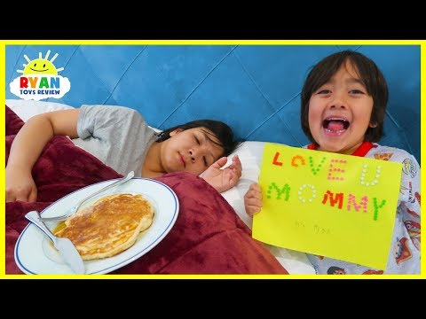 Ryan Cooks Breakfast And Surprise Mommy For Mother's Day!!!