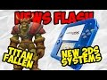 Titan has fallen and new 2DS systems - News Flash