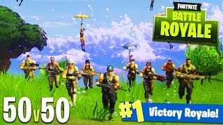 Funny 50v50 game! | Fortnite |