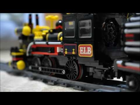 LEGO Cuusoo Back to the Future Jules Verne Train (Part3)