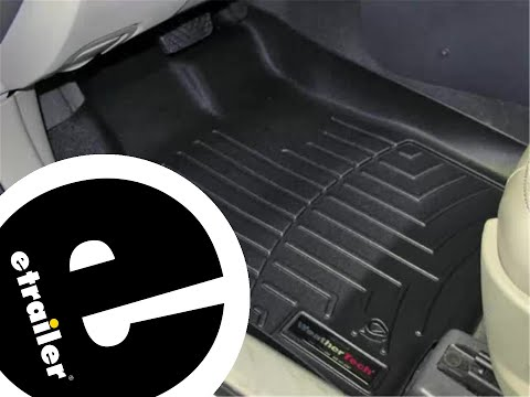 Review of the WeatherTech Front Floor Mats on a 2010 Ford Fusion - etrailer.com