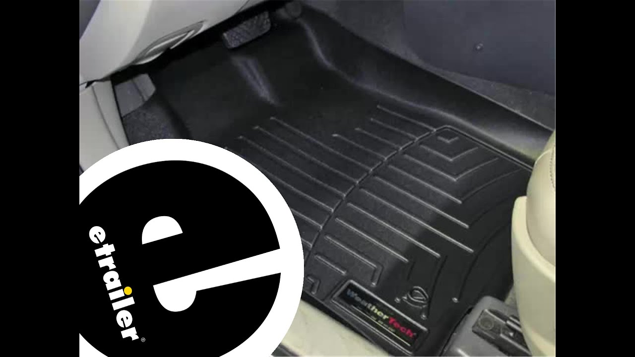 Weathertech Front Floor Mats Review 2010 Ford Fusion Etrailer