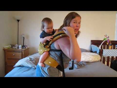 Free to Grow Tula back carry (beginner)