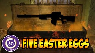 BLACK OPS 3 ZOMBIES ~ THE 5 CRAZIEST EASTER EGGS THAT TURNED OUT TO BE FAKE!