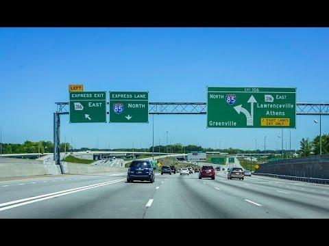 14-02 Atlanta #2: I-85 North in Gwinnett County