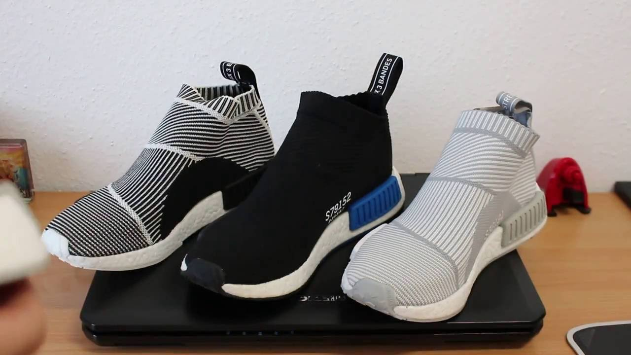 Adidas NMD City Sock White/Gum Pound for Pound P4P Shoes