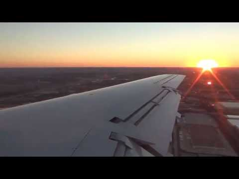 Envoy Air EMB-145 Lands at Dallas-Fort Worth International Airport