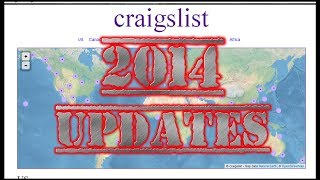 Craigslist 2014 Updates.  No More HTML?  Now What??
