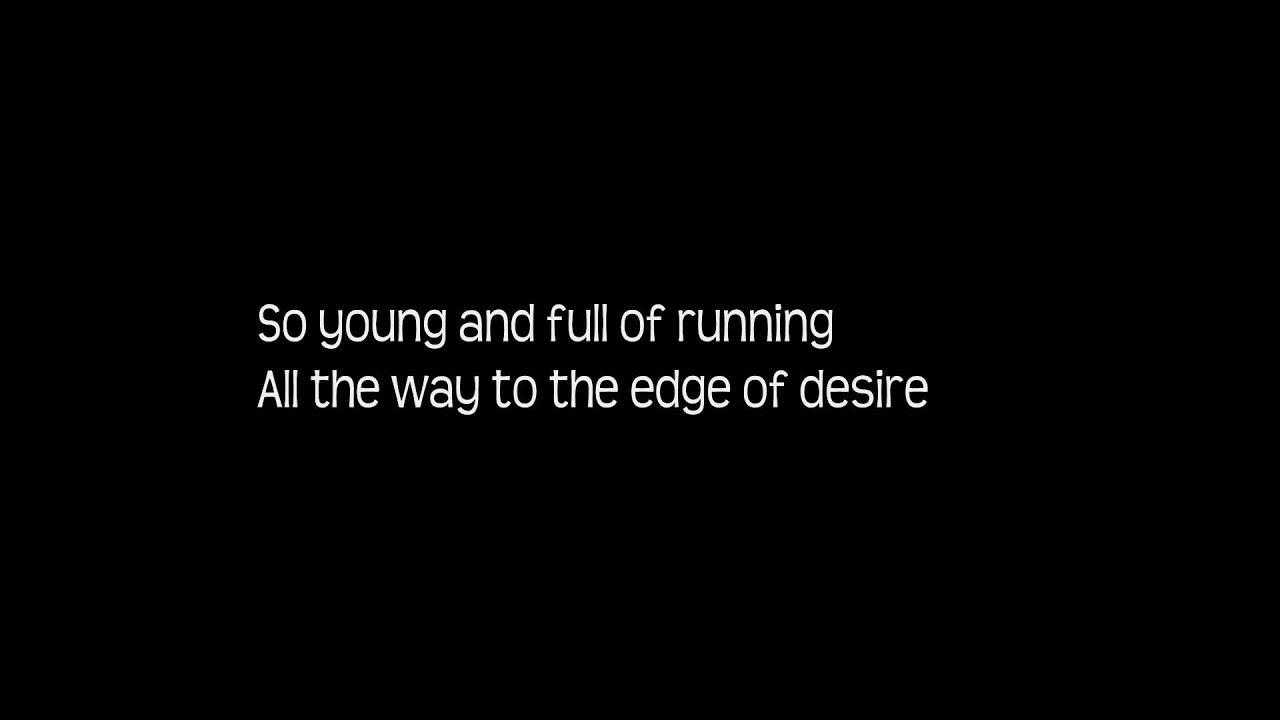 John mayer edge of desire lyrics hd youtube for Desire miroir miroir lyrics