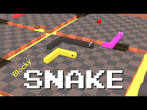 Blocky Snake - The Most Addictive Game!